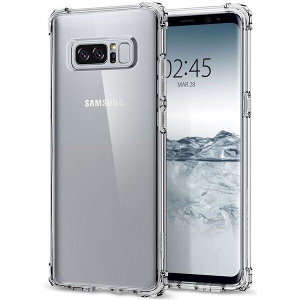 Pouzdro Spigen Crystal Shell Clear Crystal Samsung Galaxy S8 Čirá