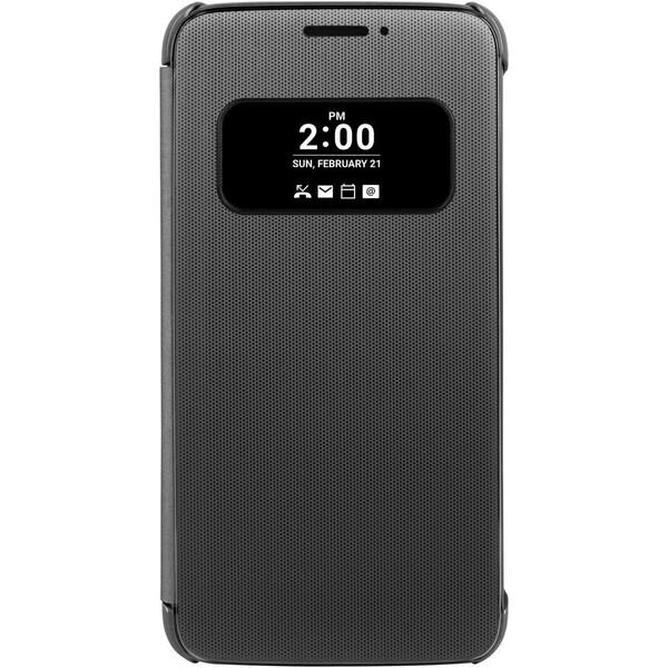 LG CFV-160 Mesh Folio flip pouzdro LG G5 šedé