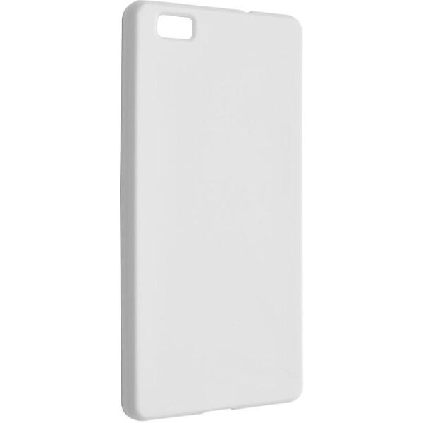 Pouzdro TPU gelové FIXED Huawei P8 Lite bílé Bílá