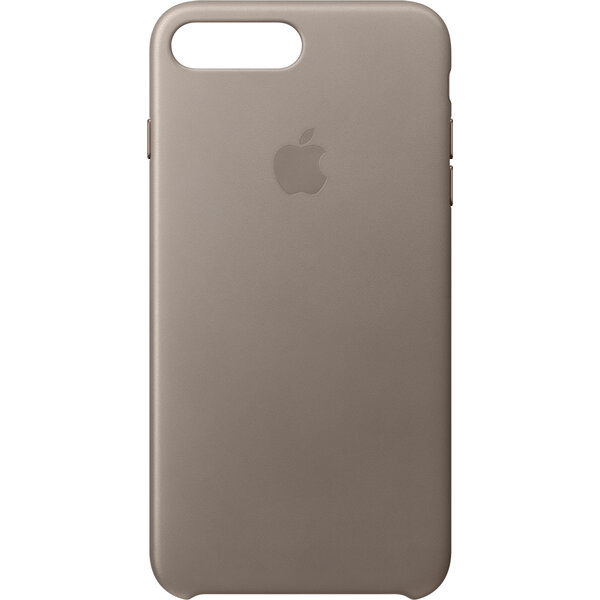 Pouzdro Apple Leather Case iPhone 7 Plus - kouřové Kouřová
