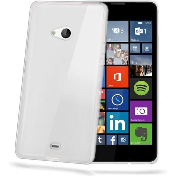 CELLY Gelskin pouzdro Microsoft Lumia 540 / 540 Dual SIM čiré