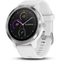 f33ad6fd359 Garmin vívoActive3 Optic chytré hodinky stříbrné bílý pásek