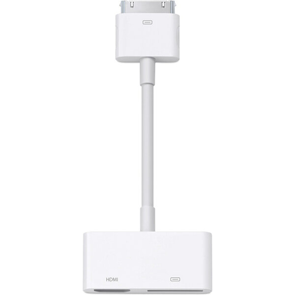 Apple 30pin Digital AV Adapter md098zm/a Bílá