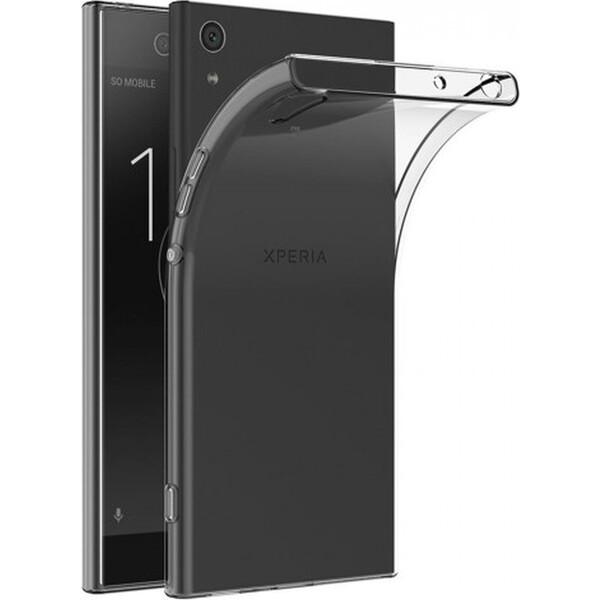 Smarty ultratenké TPU pouzdro 0,3mm Sony Xperia Z1 Compact čiré