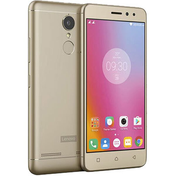 Lenovo K6 Dual SIM LTE zlatý