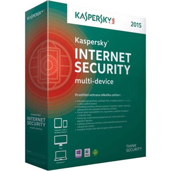 Kaspersky Internet Security MD 2015 (pro 3 zařízení na 1 rok)