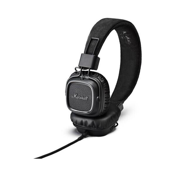 Marshall Major II náhlavní sluchátka temně černá