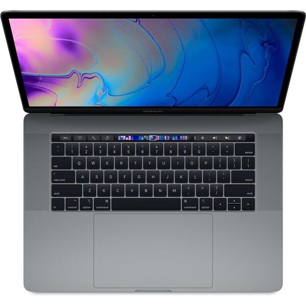 """CTO Apple MacBook Pro 15,4"""" Touch Bar / 2,2GHz / 32GB / 512GB / R555X / vesmírně šedý (2018)"""