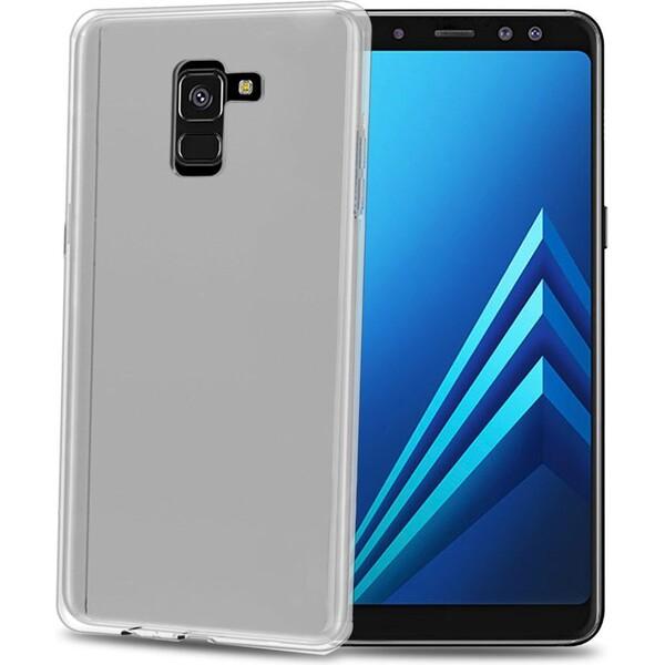 Pouzdro CELLY Gelskin Samsung Galaxy A8 2018 Čirá 9144396bd6d