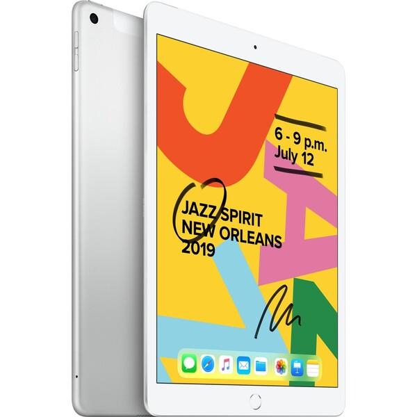"""Apple iPad 10,2"""" 128GB Wi-Fi + Cellular stříbrný (2019)"""