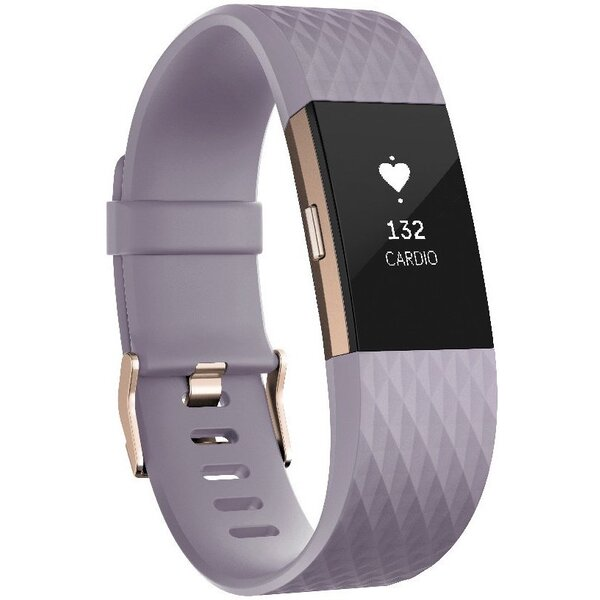 Fitbit Charge 2 L Růžově zlatá