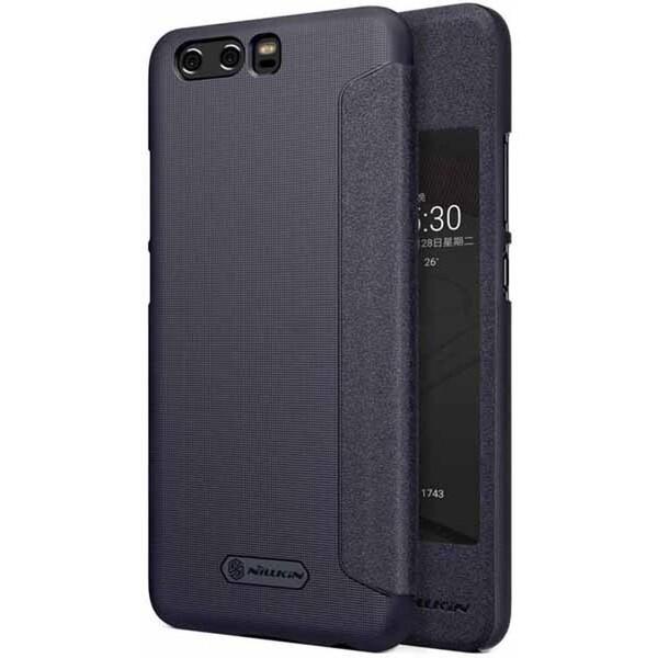 Pouzdro Nillkin Sparkle S-View Huawei P10 Černá