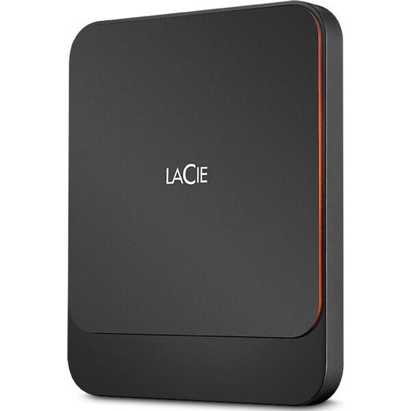 LaCie Portable USB-C SSD 2TB Tmavě šedá