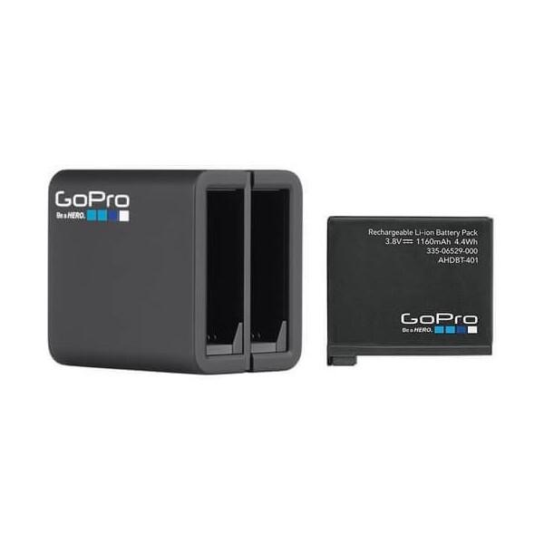 GoPro duální pro HERO 4 - AHBBP-401 Černá