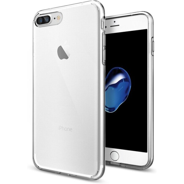 Pouzdro Spigen Liquid iPhone 7+ crystal Čirá