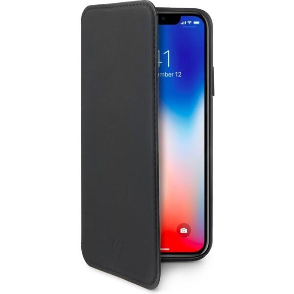 Pouzdro CELLY Prestige Apple iPhone X Černá