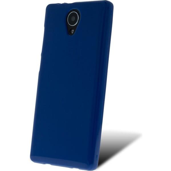 SILIKONOVÉ (TPU) POUZDRO MODRÉ PRO myPhone FUN LTE TPUMYAFUNLTESIBL Modrá