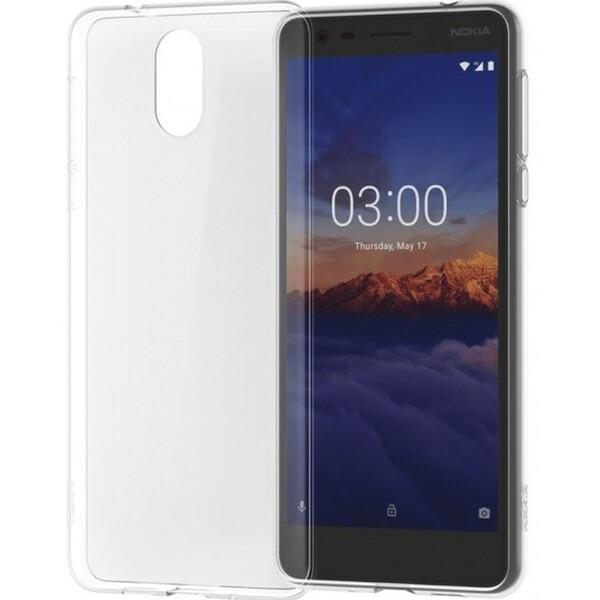 Nokia Slim Crystal TPU pouzdro Nokia 3.1 čiré