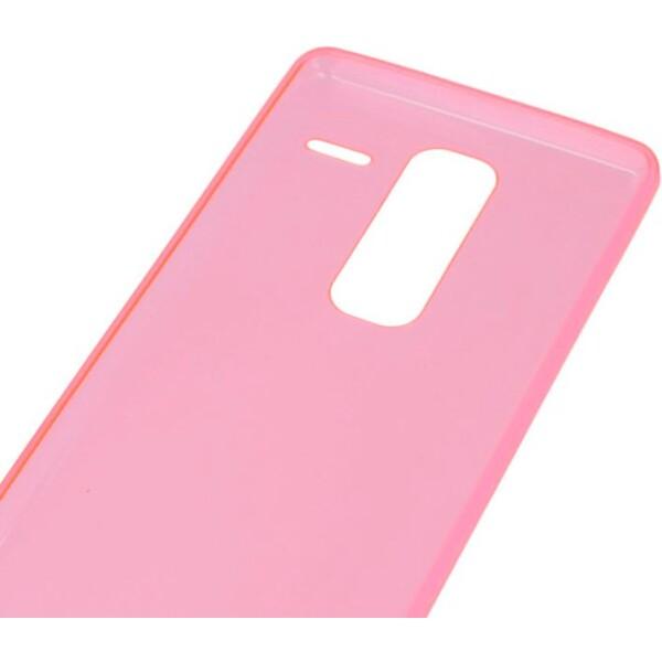 Smarty ultratenké TPU pouzdro 0,3mm Apple iPhone 5/5S/5SE červené