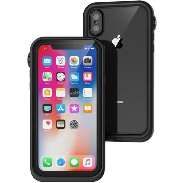 Pouzdro CATALYST Waterproof APPLE iPhone X černé Černá