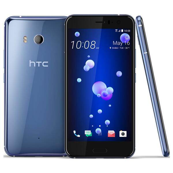 HTC U11 64GB LTE stříbrný