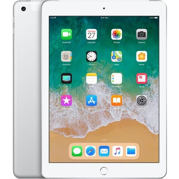 Apple iPad 9.7 (2018) Wi-Fi+Cellular 128GB Silver MR732FD/A Stříbrná