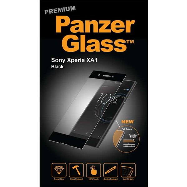 PanzerGlass Premium Sony Xperia XA1 černé Černá