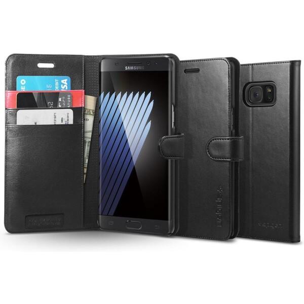 Spigen Wallet S kožené pouzdro Samsung Galaxy Note 7