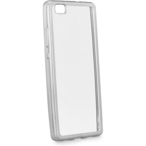 Smarty Electro TPU pouzdro Huawei P10 Lite stříbrné