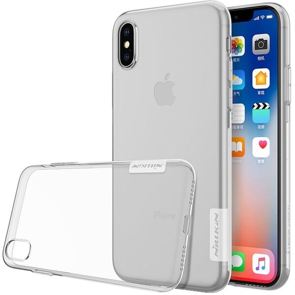 Nillkin Nature TPU pouzdro Apple iPhone X/XS čiré