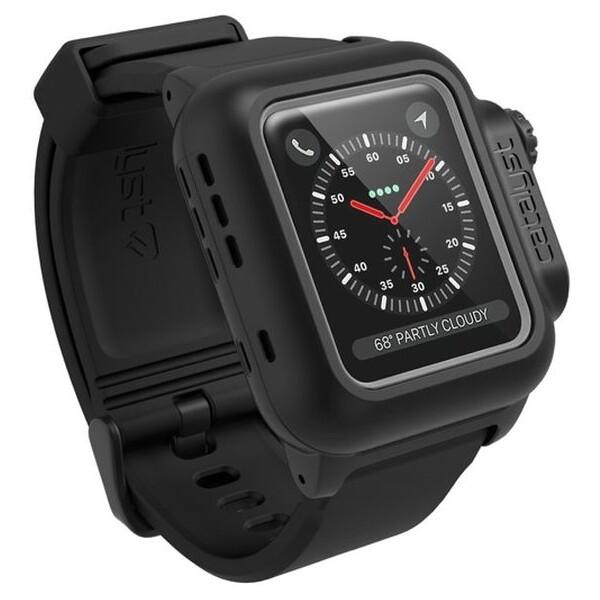 Catalyst odolné vodotěsné pouzdro Apple Watch 2/3 42mm černé