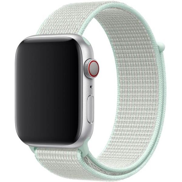 Apple Watch provlékací sportovní řemínek Nike 44/42mm jemně tyrkysový