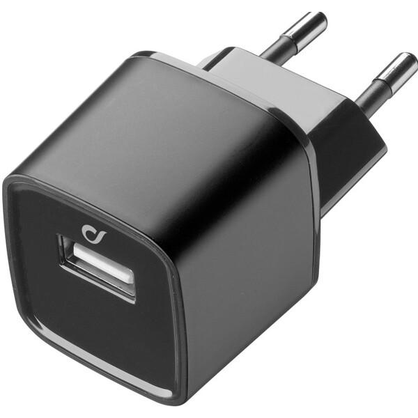 Cellularline Unique Desing USB nabíječka pro iPhone Černá