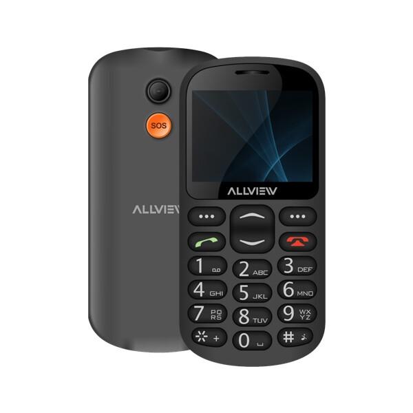 Allview D1 Senior Dual SIM Černá