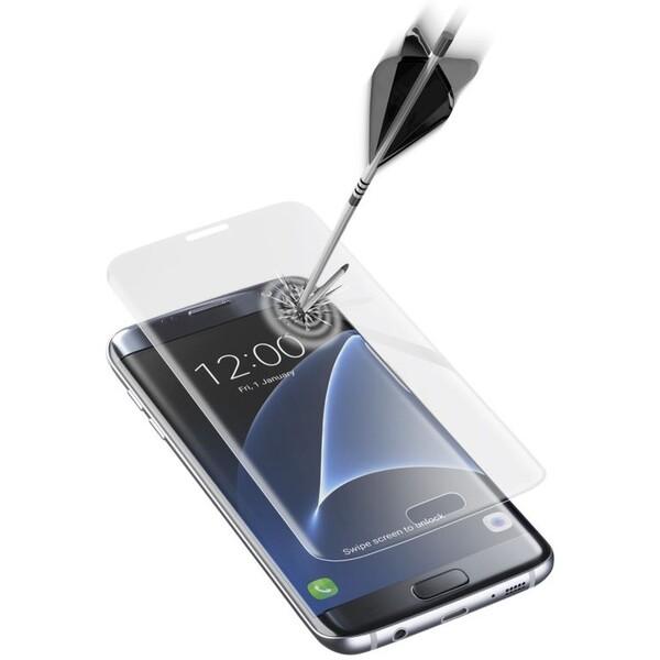 CellularLine GLASS zaoblené pro pro Samsung Galaxy S7 EDGE, čiré TEMPGCUGALS7ET Čirá