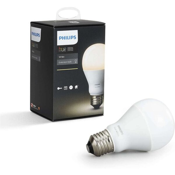 Philips Hue LED Bulb E27 DIM 9,5W 60W Teplá bílá 806 LM