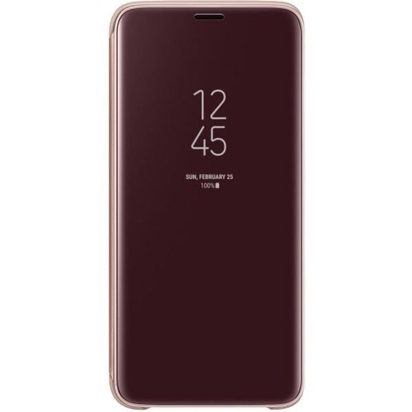 Samsung flipové pouzdro Clear View se stojánkem Samsung Galaxy S9 zlaté EF-ZG960CFEGWW Zlatá