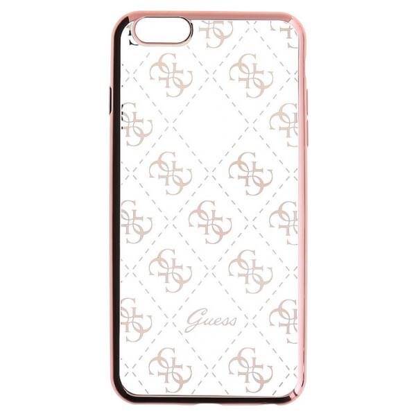 Pouzdro Guess 4G Rose Gold iPhone 6 6S GUHCP6TR4GRG Růžová fc33deb807b