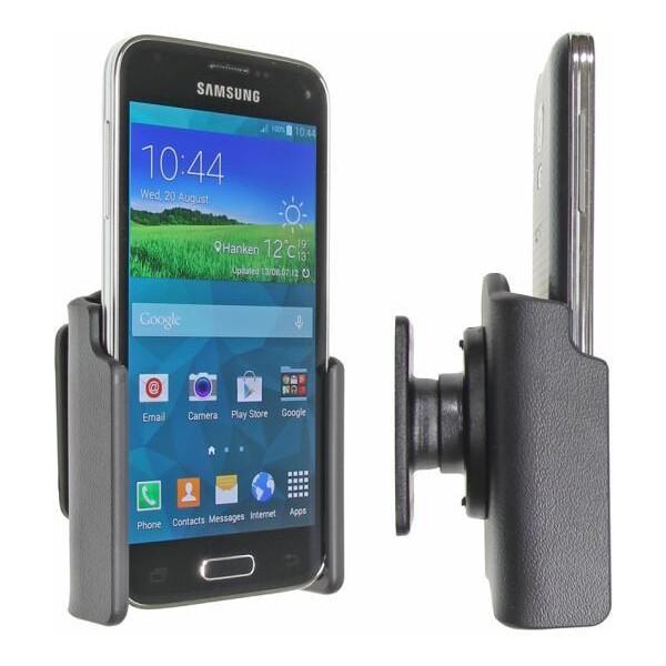 Brodit držák do auta na Samsung Galaxy S5 Mini bez pouzdra, bez nabíjení 511649 Černá