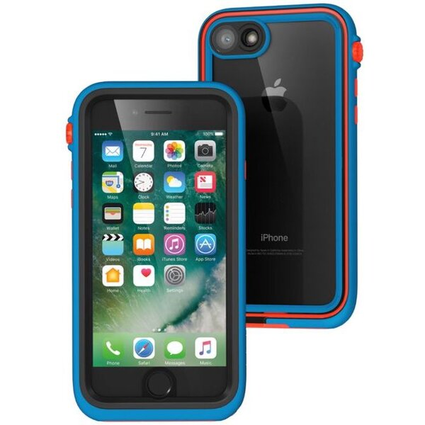 Pouzdro Catalyst Waterproof case ridge - iPhone 7 modré Modrá