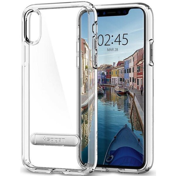 Spigen Ultra Hybrid S, crystal clear - iPhone X Čirá