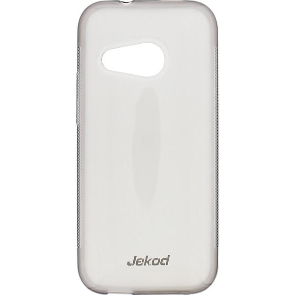 JEKOD silikonové pouzdro HTC M8 ONEmini černé + ochranná fólie na displej