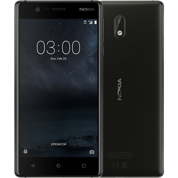 Nokia 3 Dual SIM Černá