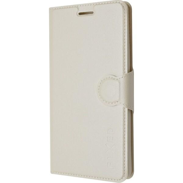 Pouzdro FIXED flip Lenovo P70 bílé Bílá