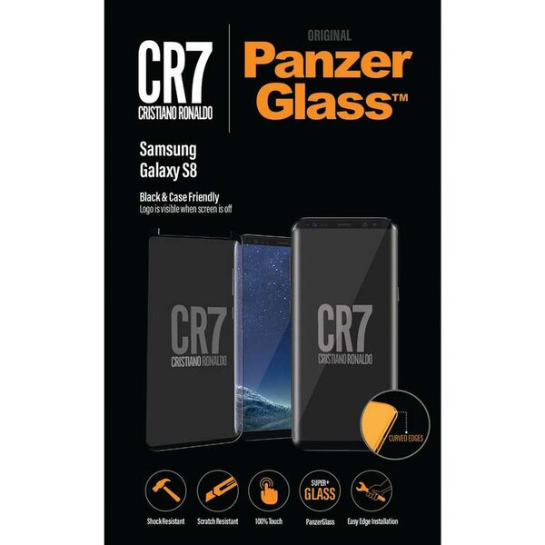 PanzerGlass Edge-to-Edge Samsung Galaxy S8 černé CR7