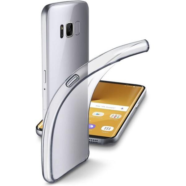 Pouzdro CellularLine Fine Samsung Galaxy S8+ FINEGALS8PLT Čirá