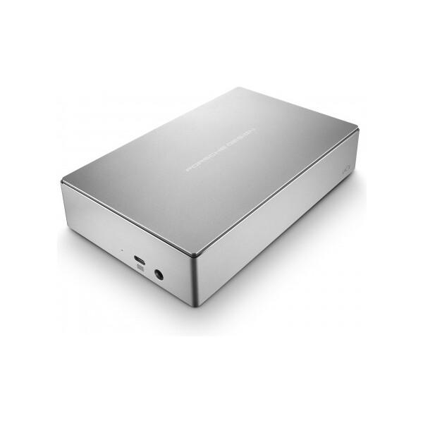 LaCie 4TB Porsche Design 3.5 USB 3.0 Type C - STFE4000401 Stříbrná