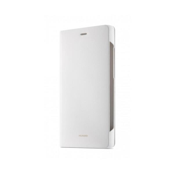 Pouzdro Huawei Flipové Huawei P8 bílé Bílá
