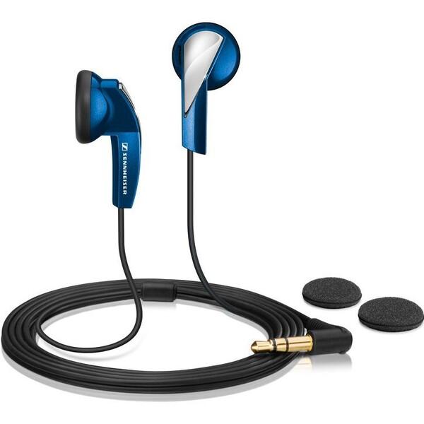 Sennheiser MX 365 sluchátka modrá