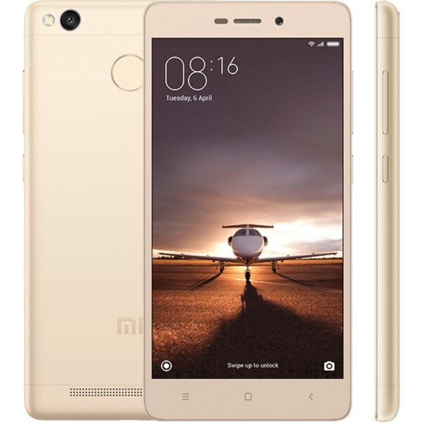 Xiaomi Redmi 3S 16GB Dual SIM CZ LTE zlatý